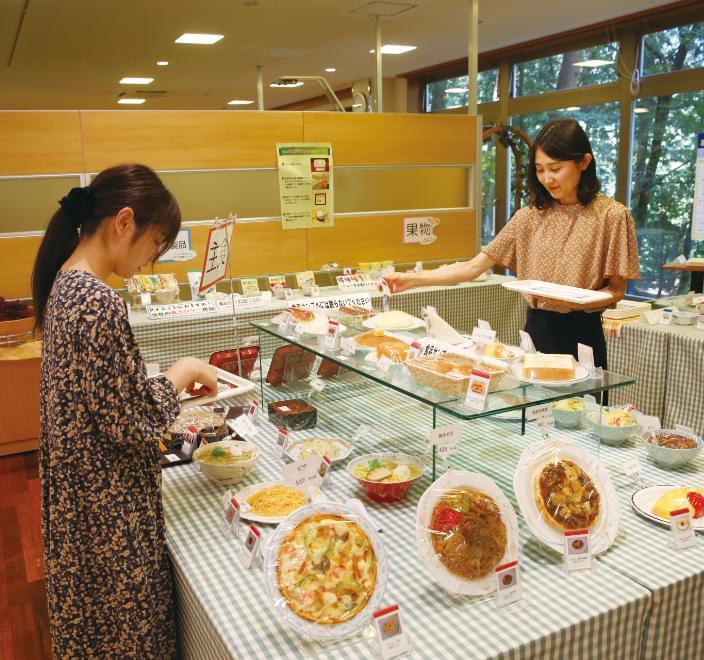 食に関する幅広い知識とサービスを提供します